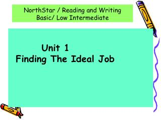 NorthStar / Reading and Writing Basic/ Low Intermediate