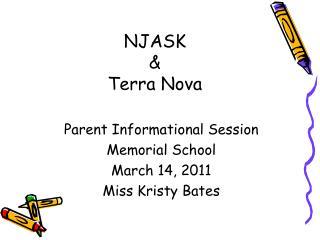 NJASK & Terra Nova