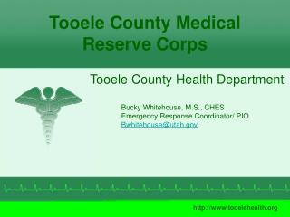 Tooele County Medical Reserve Corps