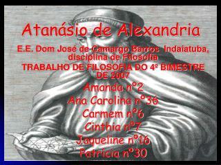 Atanásio de Alexandria