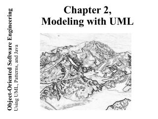 Chapter 2, Modeling with UML