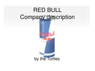 RED BULL Company description