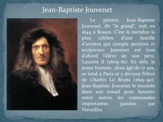 Jean-Baptiste Jouvenet