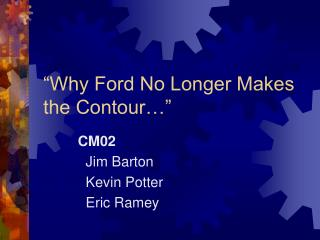 """""""Why Ford No Longer Makes the Contour…"""""""