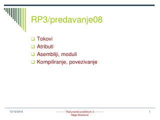 RP3/predavanje08