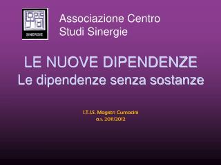 Associazione Centro Studi Sinergie