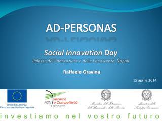 Social  Innovation Day Palazzo dell'Innovazione e della Conoscenza, Napoli