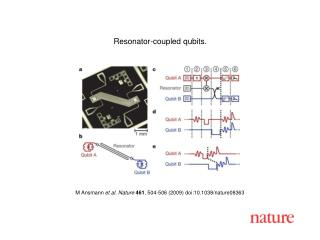 M Ansmann  et al. Nature 461 ,  504 - 506  (2009) doi:10.1038/nature08 363