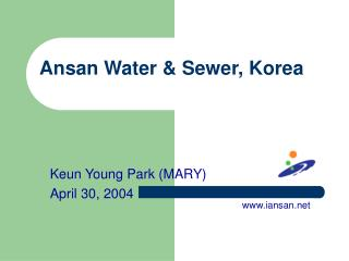 Ansan Water & Sewer, Korea