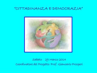 �CITTADINANZA E DEMOCRAZIA�