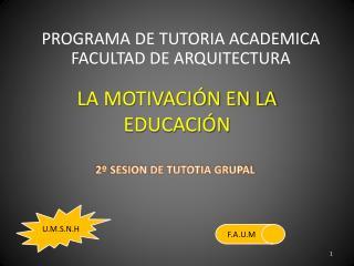 LA MOTIVACIÓN EN LA EDUCACIÓN