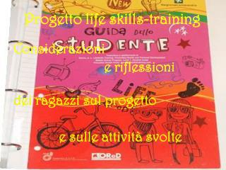 Progetto life skills-training