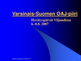 Varsinais-Suomen OAJ-piiri