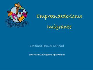 Empreendedorismo Imigrante