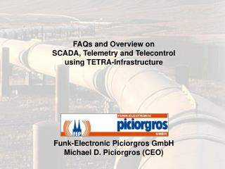 FAQs and Overview on SCADA, Telemetry and Telecontrol  using TETRA-Infrastructure