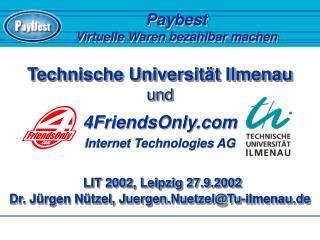 Paybest Virtuelle Waren bezahlbar machen
