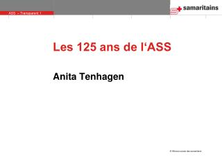 Les 125 ans de l'ASS