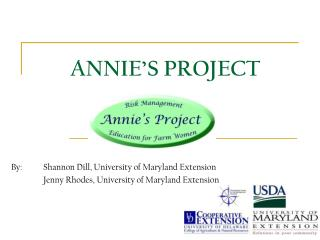 ANNIE'S PROJECT
