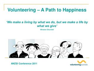 Volunteering � A Path to Happiness