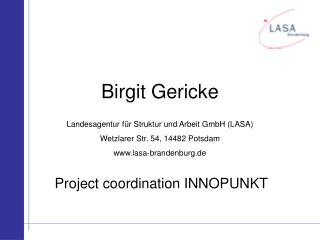 Birgit Gericke