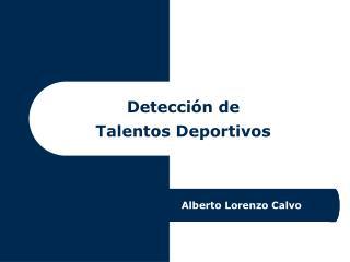 Detección de Talentos Deportivos