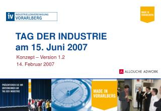 TAG DER INDUSTRIE  am 15. Juni 2007