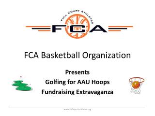 FCA Basketball Organization