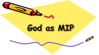 God as MIP