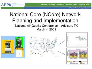 National Core (NCore) Network Planning and Implementation