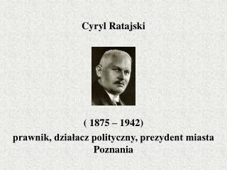 Cyryl Ratajski