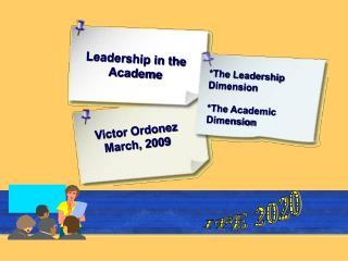 Leadership in the Academe