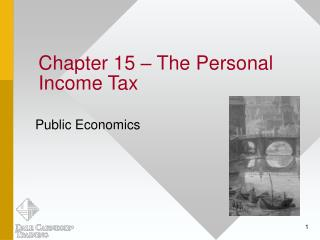 Chapter 15 – The Personal Income Tax