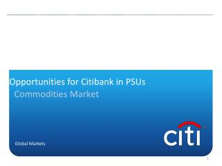 Opportunities for Citibank in PSUs
