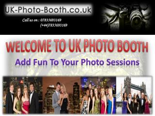 Select the Appropriate Photo Booth for Parties, Weddings and