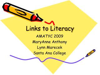 Links to Literacy