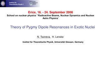 Erice, 16. - 24. September 2006
