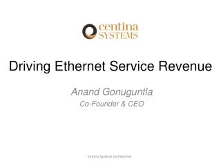 Driving Ethernet Service Revenue