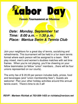 Tennis Tournament at Mantua