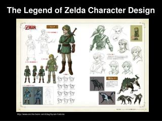 The Legend of Zelda Character Design