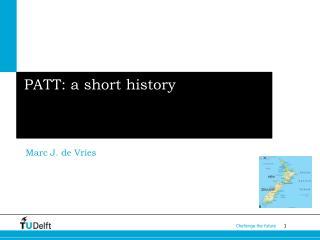 PATT: a short history