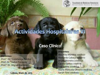 Actividades Hospitalares VI