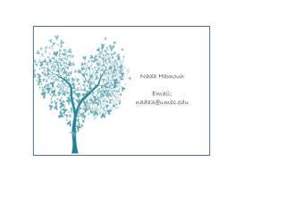 Nada  Hamouh Email: nada3@umbc