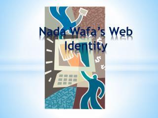 Nada Wafa's Web Identity