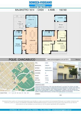 ASAMBLEA  602 (1424) CAPITAL FEDERAL � TEL:4923-9803 info@somozaviggiano.ar