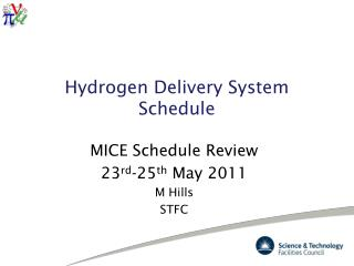 Hydrogen Delivery System Schedule