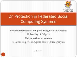On Protection in Federated Social Computing Systems