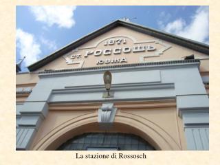 La stazione di Rossosch