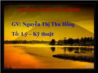 TR??NG THPT H�A B�NH