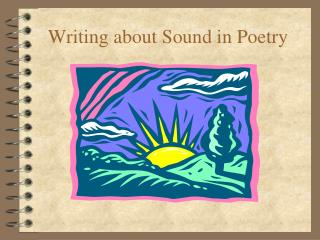 Writing about Sound in Poetry