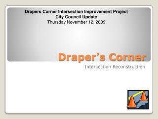 Draper�s Corner